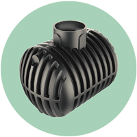The patented Twin-Wall storage tank, a very innovative product.